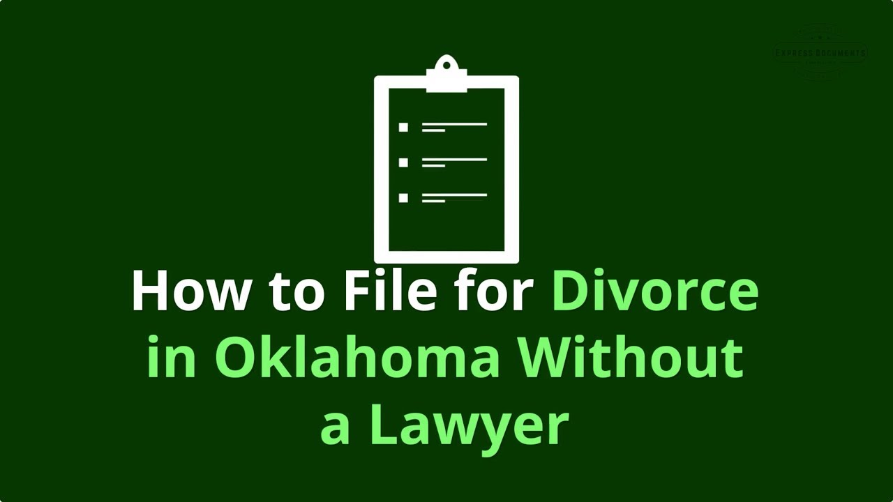 Find Easy Divorce Law Help in Oklahoma