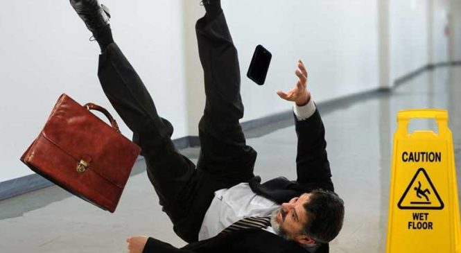 Involved In A Slip And Fall Accident? Here's What To Do